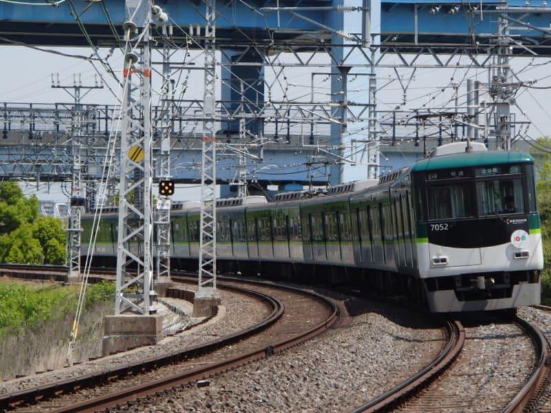 京阪7000系新塗色