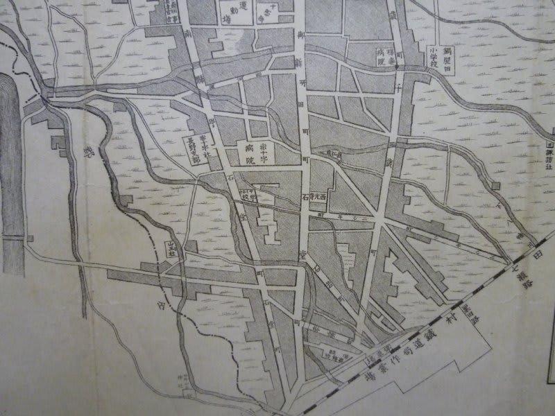 245 75 16 >> 126. 長野市地図 明治39年刊 - 新日本古地図学会