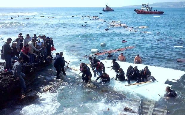 2015 06 06 終わっているが、終わりたくない。【わが郷・政治】不法移民を満載した船を難破させる。