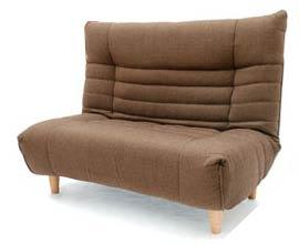 ポケットコイルを使用した座椅子式ソファ