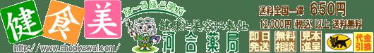 ショップ河合薬局 健康食品 化粧品 通販 東京 町田 漢方専門店