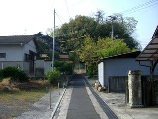 薬師寺から王子山へ向かう道中