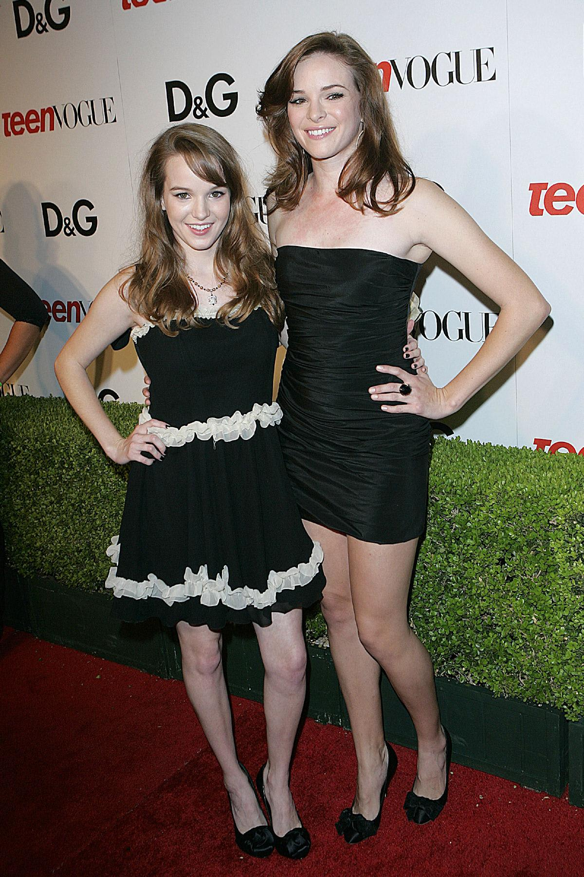 Danielle Panabaker And Kay 2014