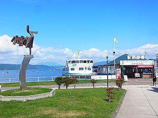 「風」と駅前桟橋1