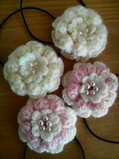 かぎ針でモチーフ編み