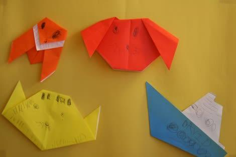 ハート 折り紙 折り紙 セミ 簡単 : blog.goo.ne.jp