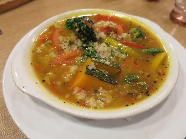 十三穀米の野菜リゾット