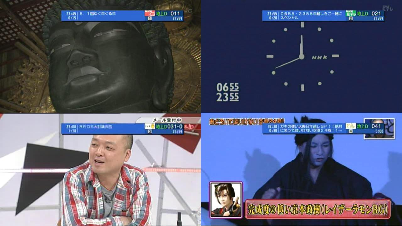 地デジ2011-2012 - 放送まにあ 試験電波発射中!!