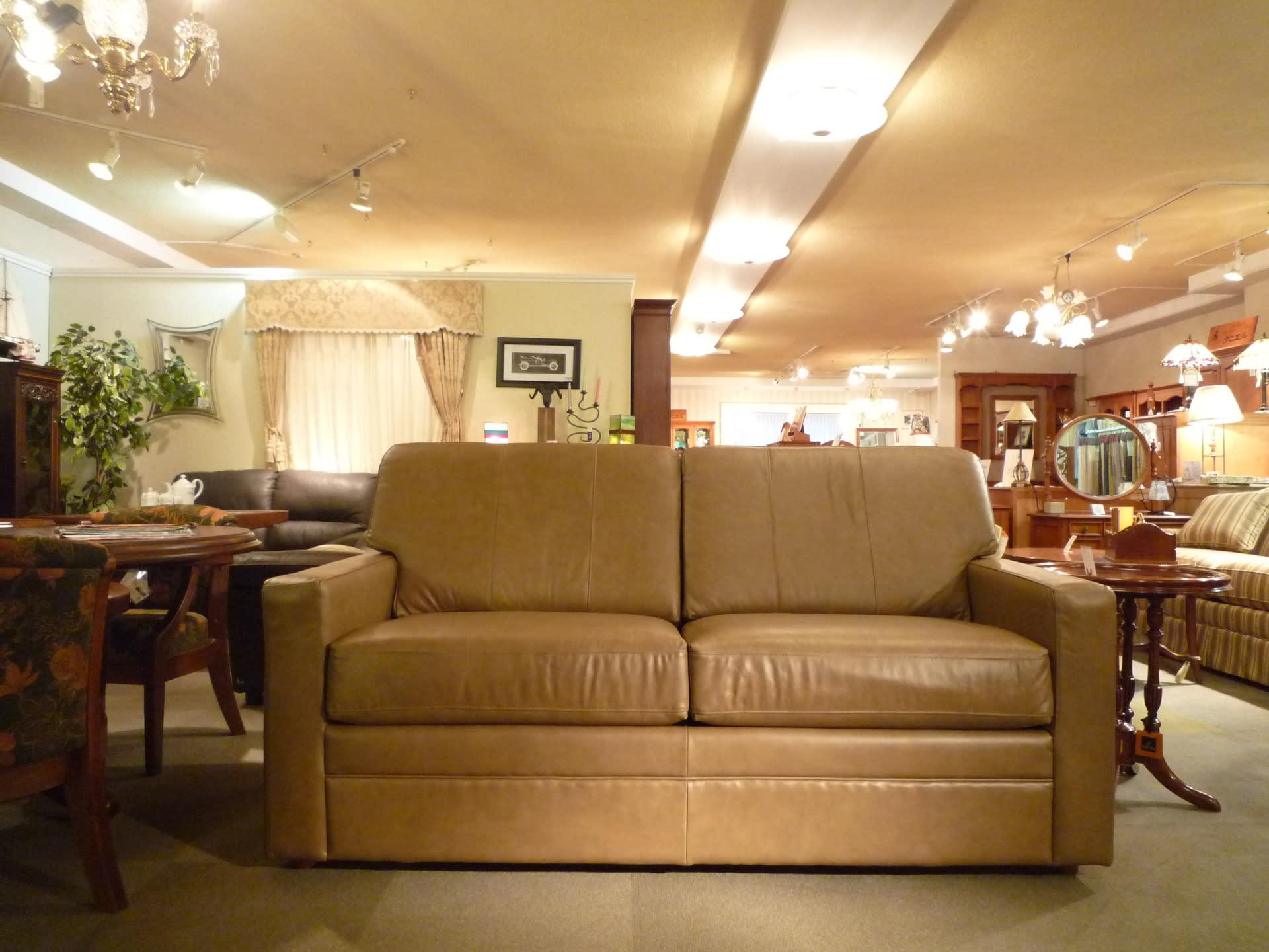 とっさの来客にすぐ対応 アメリカ製 スィートルームの『ソファベッド