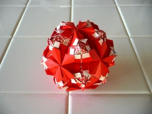 折り紙の 折り紙 まり 折り方 : divulgando.net