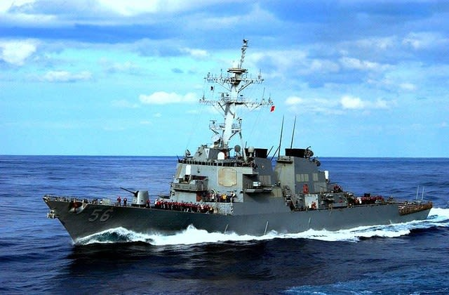 USS John S. McCain, DDG-56【岩淸水・米軍装備】