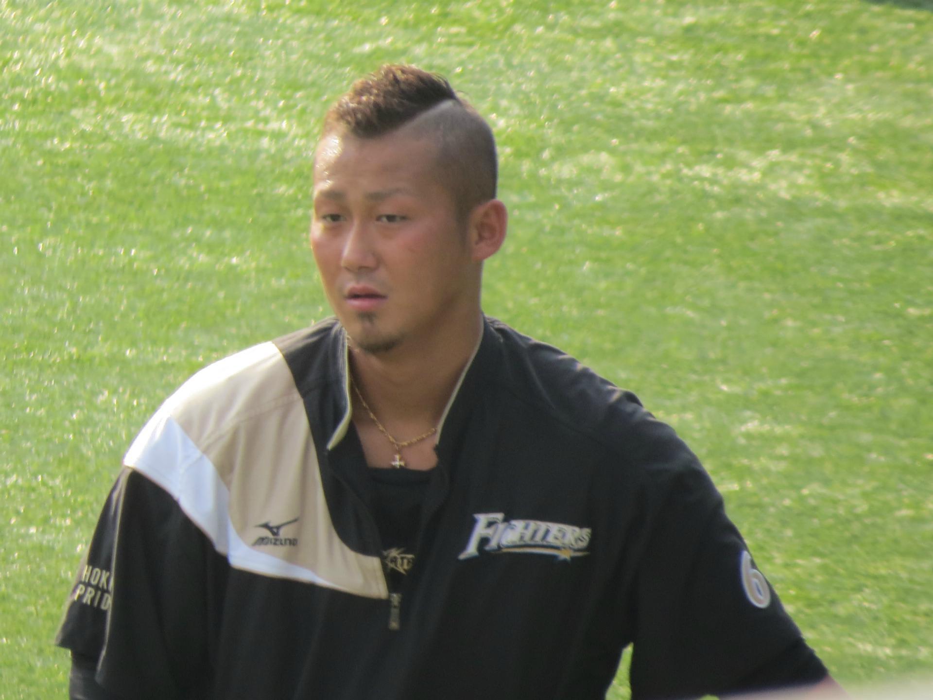 中田翔 に対する画像結果