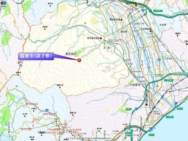 最乗寺地図