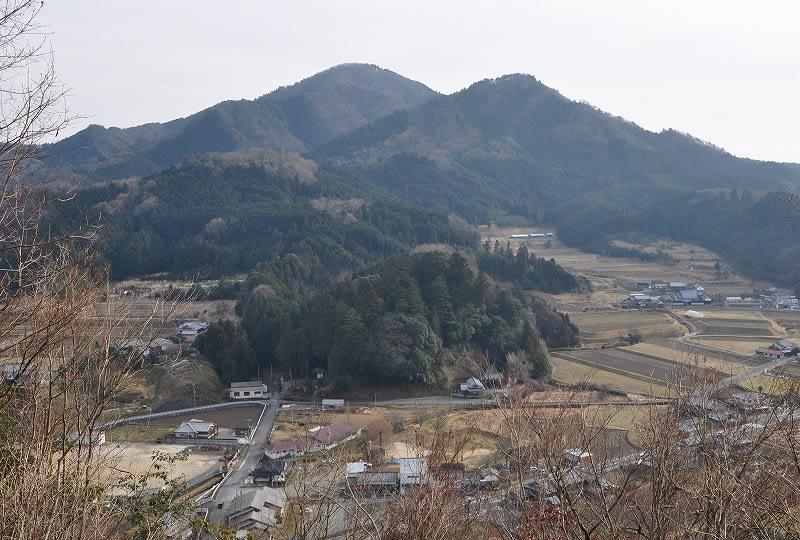 吐山城跡からの眺望