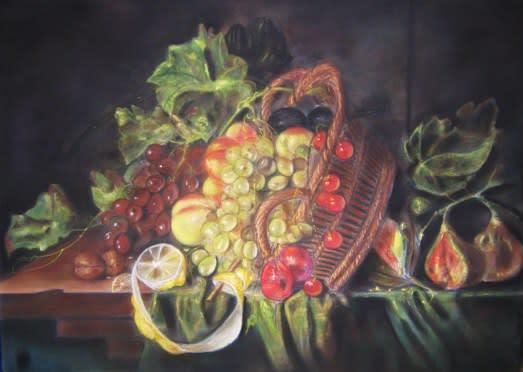 コルネリス・デ・ヘーム《果物籠のある静物》 年頃 国立西洋美術館 鑑賞教育キーワードmap
