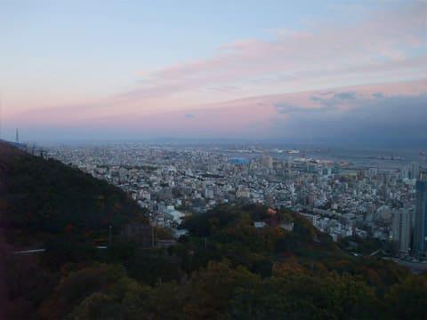 神戸の夕暮れ