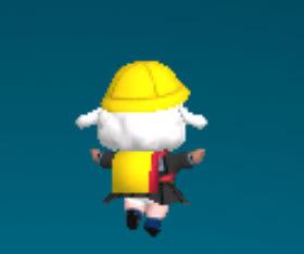 メイちゃんのランドセルは黄色いカバー付き
