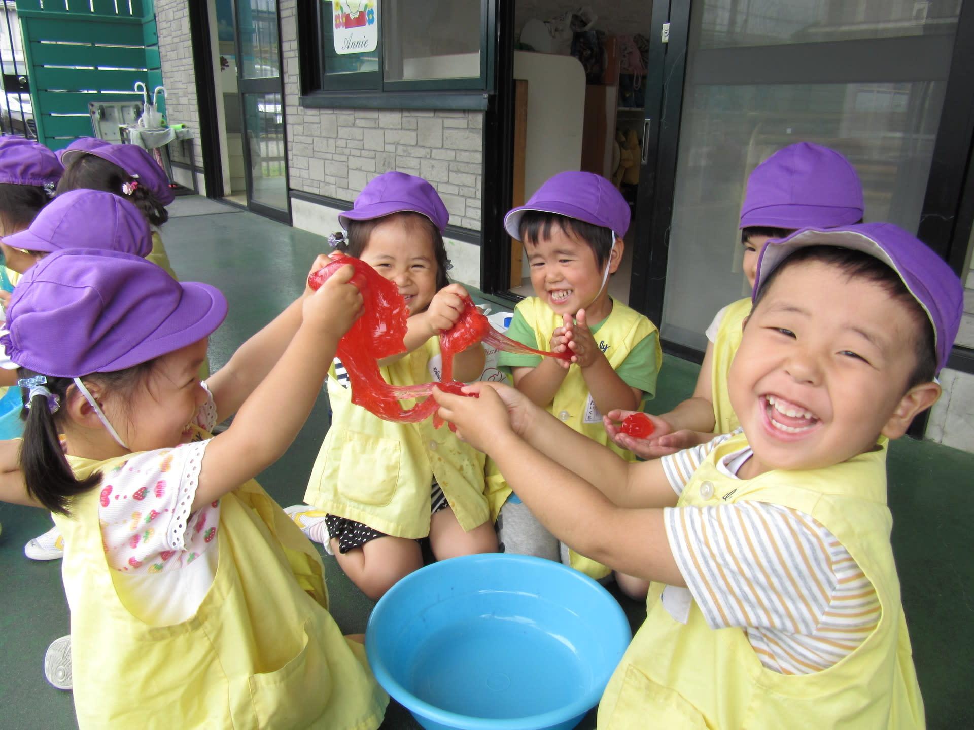 すべての折り紙 折り紙 バイキンマン : スライム遊び(3歳児 ...