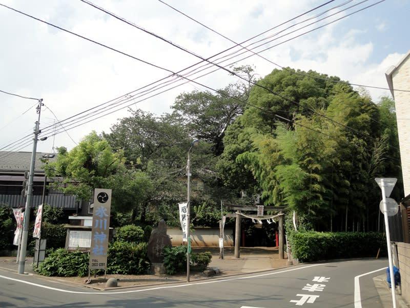 06月29日 氷川神社入り口