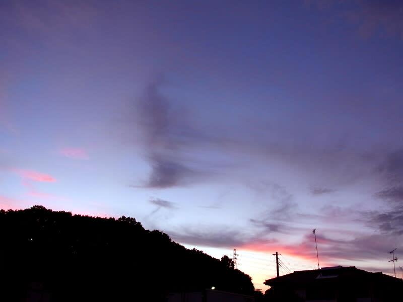 07月28日 夕焼け