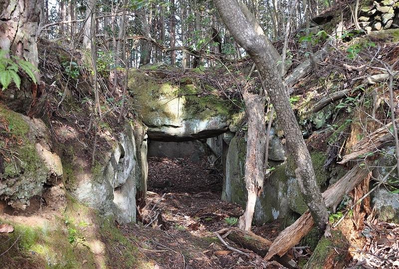 桃山古墳石室