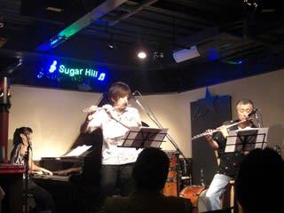 フルート界のボス、井上信平さんと私の師匠坂上領さんが共演するライブに行っ... 坂上領/井上信平