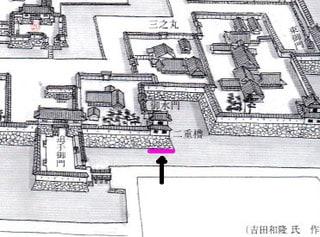福山城全景復元図(巻末封入)