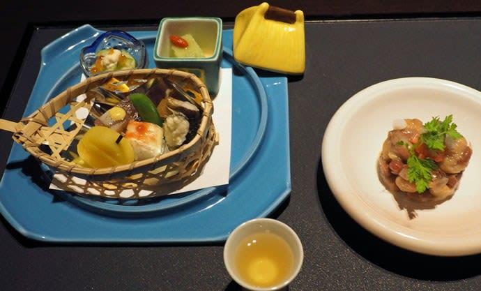 佳松亭の四季懐石・旬菜など