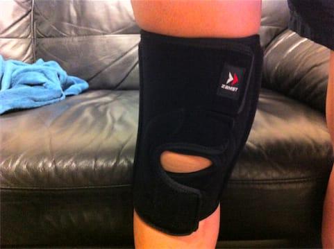 自転車の 自転車 膝痛 : 膝痛解消のためにガッチリした ...