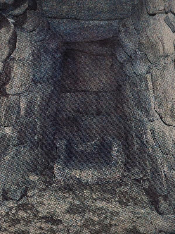 市尾宮塚古墳発掘時の石室