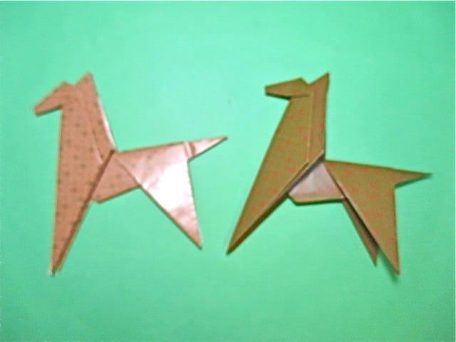 簡単 折り紙 折り紙 馬 折り方 : blog.goo.ne.jp