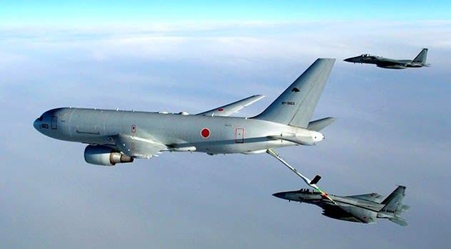 KC-767 給油機【岩淸水・防衛省装備】