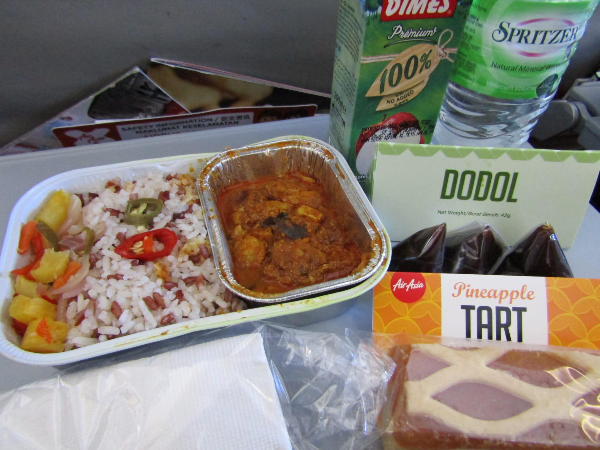Image result for エアアジア 機内食 クアラルンプール