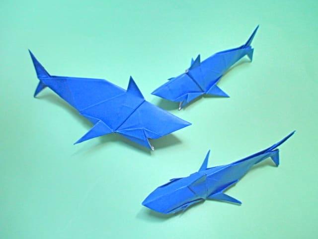 ハート 折り紙:折り紙金魚の折り方-blog.goo.ne.jp