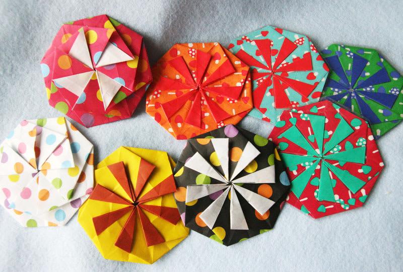 ハート 折り紙 折り紙コースター作り方簡単 : divulgando.net