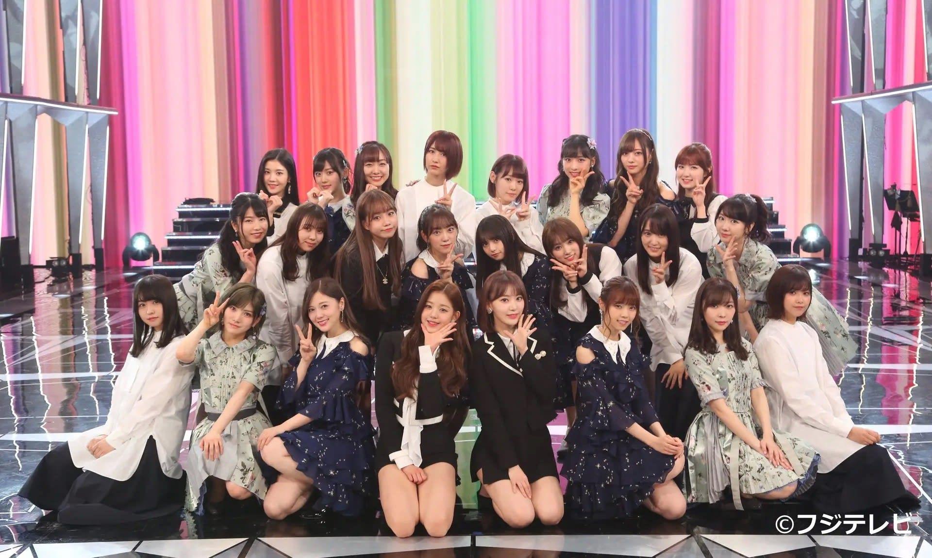 【画像】 IZONEさん、AKB48乃木坂46欅坂46全員まとめて公開処刑wwwwwwwwwwwwwwwwwwwwwwwwww