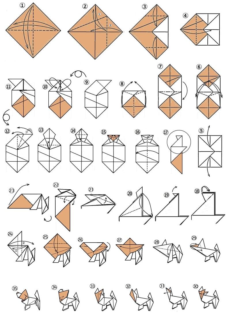すべての折り紙 犬 折り紙 : 手作りおもちゃの冊子 [たの ...