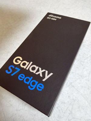 Galaxy S7 edge SC-02H��Ȣ