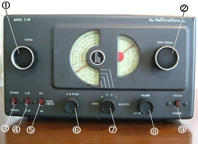 Tube radio furthermore Viewtopic besides KA2KNX in addition Hallicrafters S 38 Schematic likewise Hallicrafters S 38 Schematic. on hallicrafters s 120 restoration