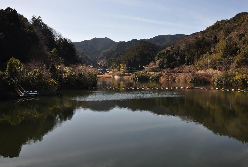 宮奥ダム湖