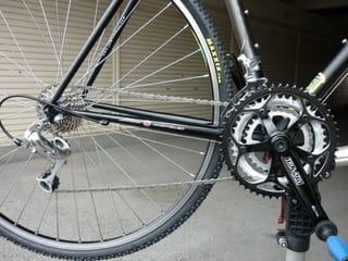 ... 基本調整 - Kinoの自転車日記