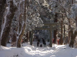 大神山神社参道