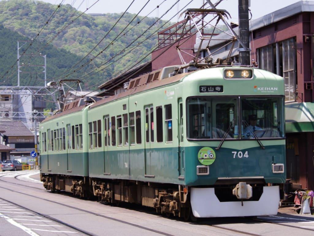 京阪700形大津線開業100周年記念ヘッドマーク付