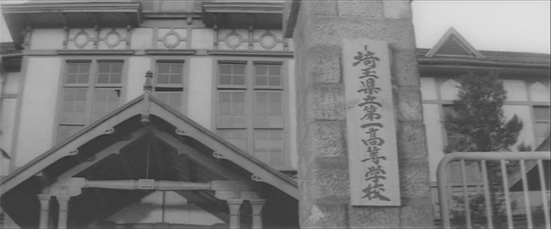 女学校道と旧埼玉県立浦和高等女...