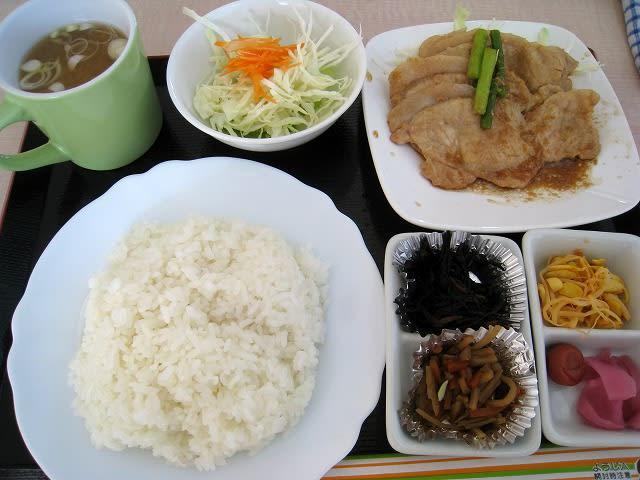 ロース生姜焼き弁当