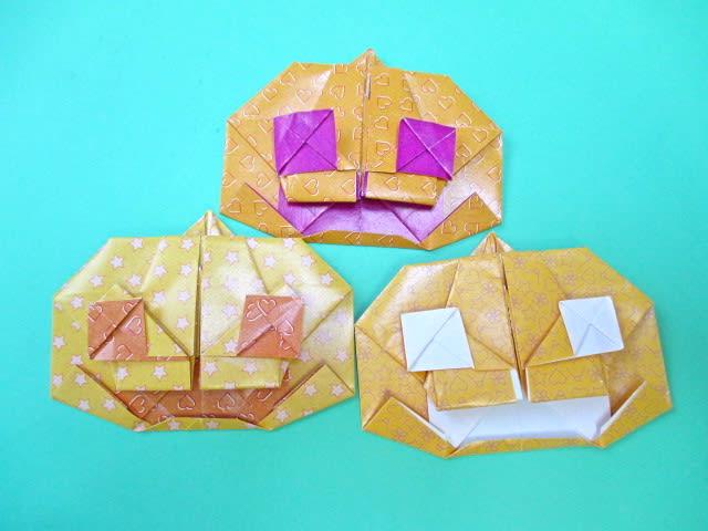 ハート 折り紙 おばけ 折り紙 折り方 : blog.goo.ne.jp