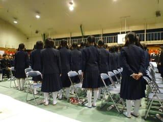 今年も東中学校卒業式で感動! -...