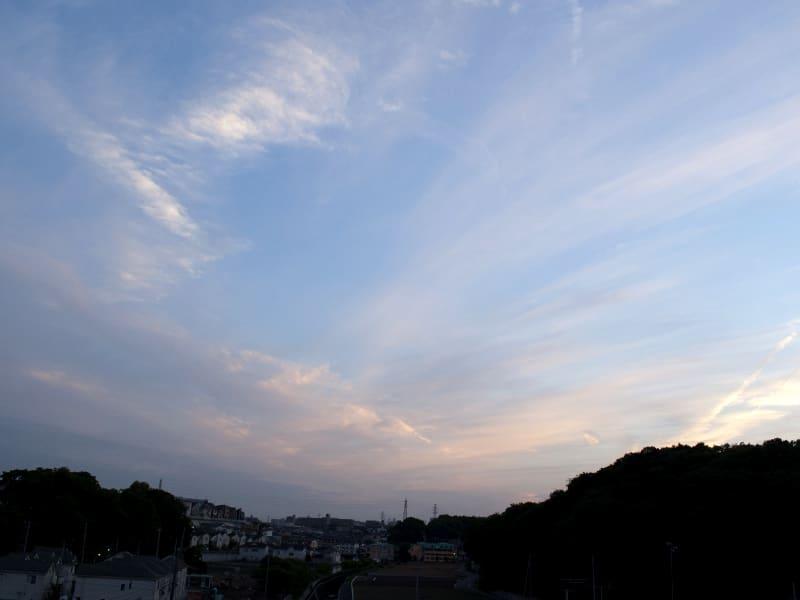 05月24日 夕方の雲