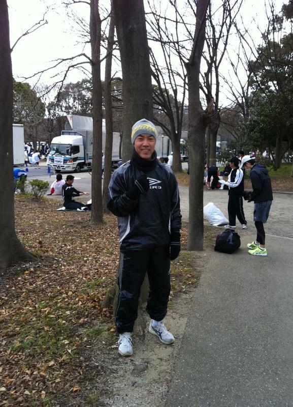 Jackie_before_race