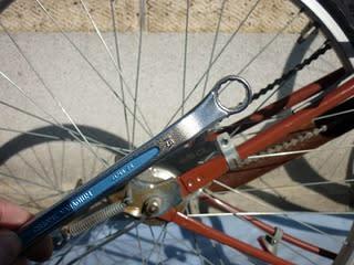 ... 後輪の脱着 - Kinoの自転車日記